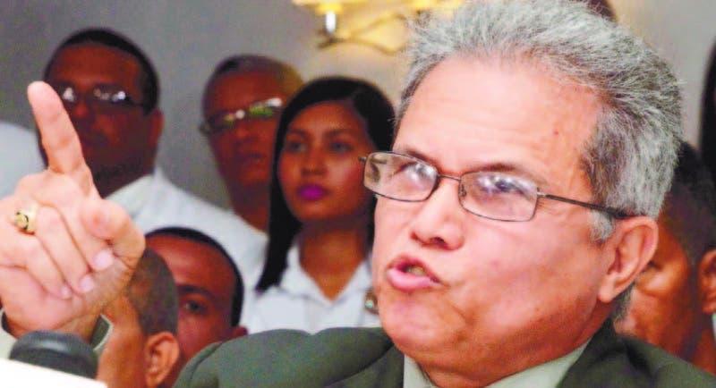 Waldo Ariel Suero, presidente del Colegio Medico Dominicano