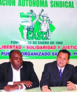 William Charpantier y José Alberto Pérez, en rueda de prensa ayer.