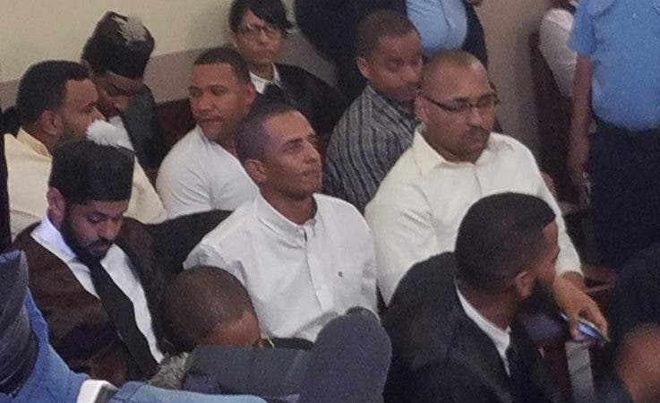 Yimi Zapata y los otros dos imputados fueron enviados a la cárcel de Najayo.