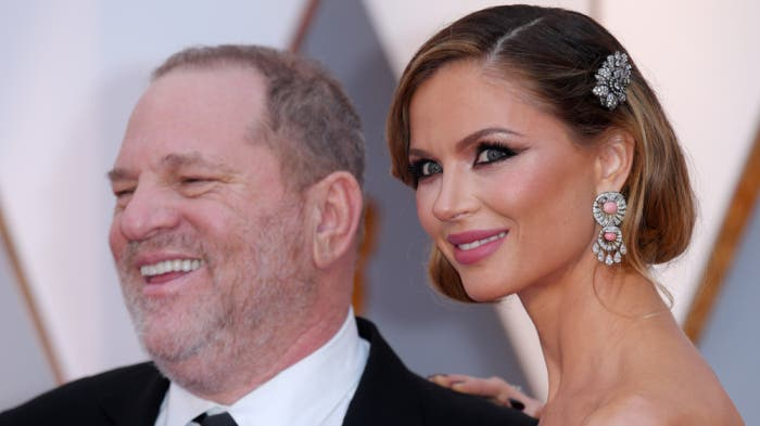 Harvey Weinstein Y Georgina Chapman.