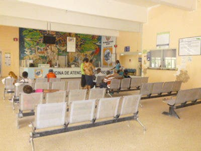 Era escasa la asistencia de pacientes en los centros de salud públicos de San Pedro de Macorís.