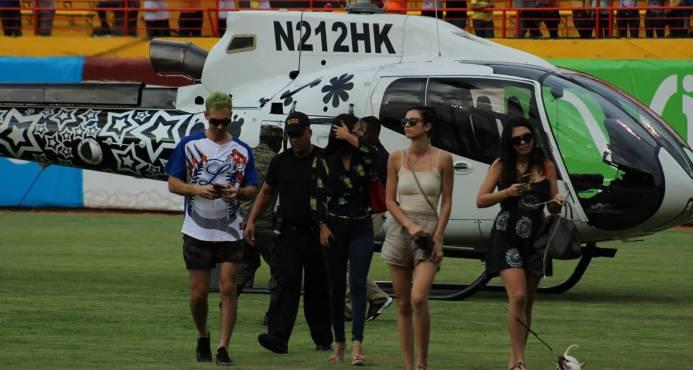 Karim Abu Naba'a y su piloto no podrán volar en helicóptero; IDAC impone sanción