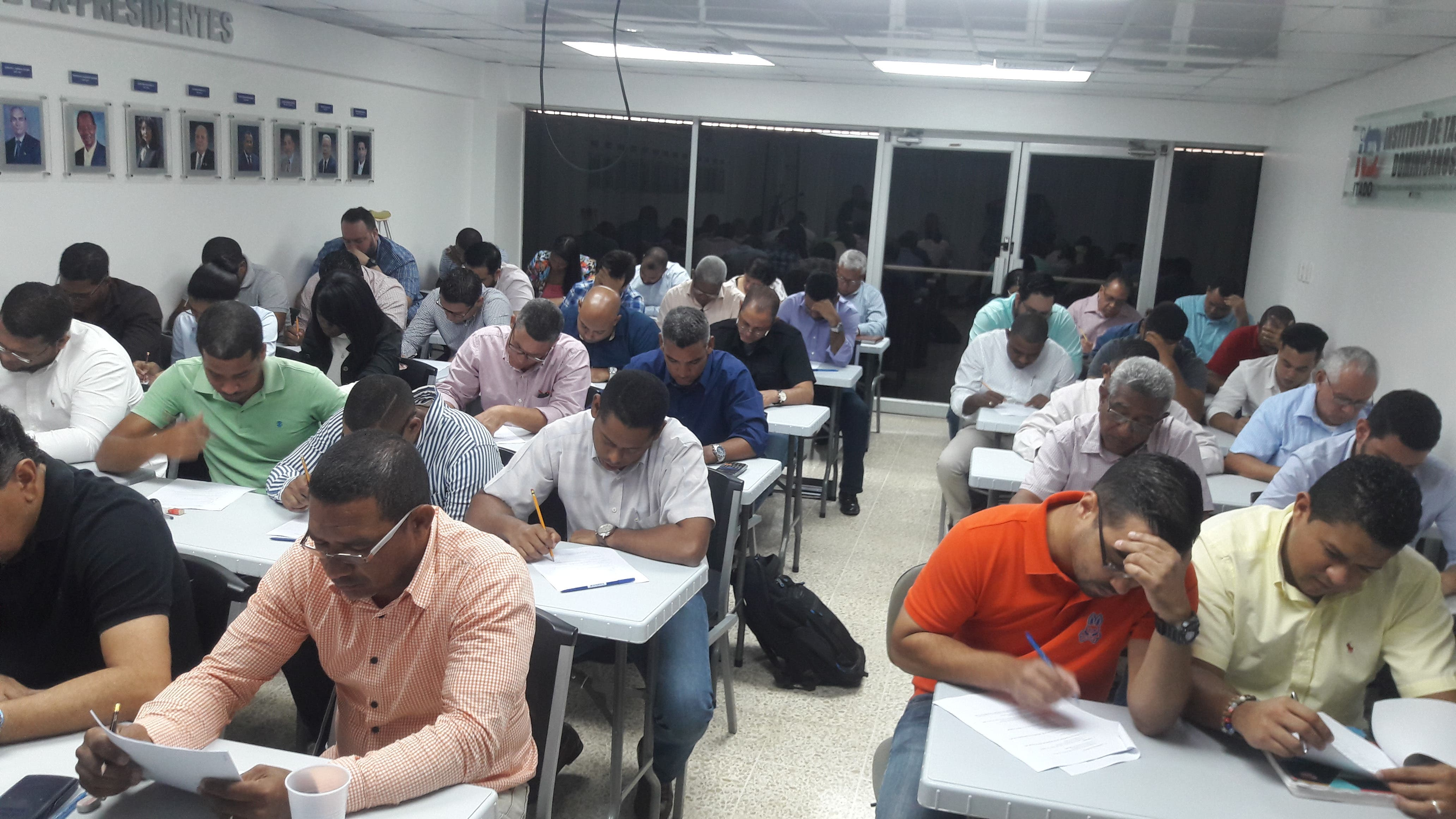 ITADO imparte examen de admisión a aspirantes a nuevos miembros