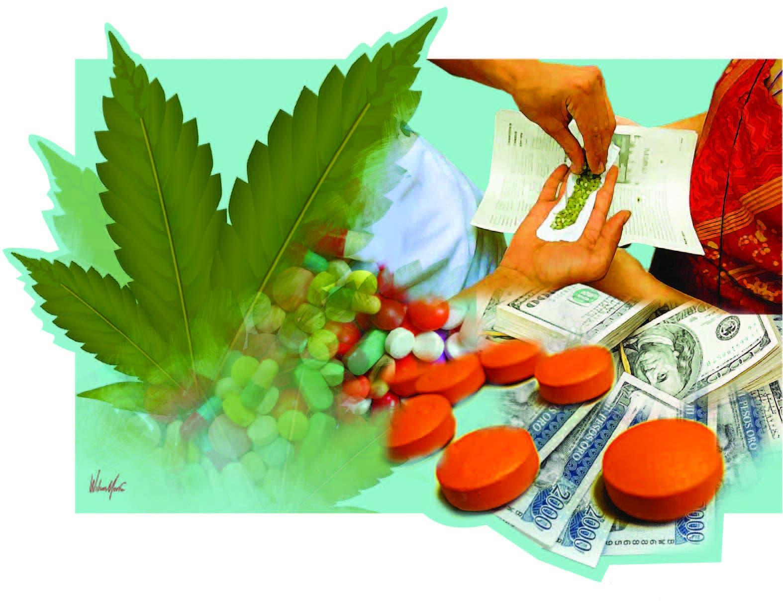 Delincuencia se narcotiza con el creciente microtráfico de  drogas