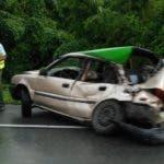Vehículo involucrado en el accidente. Foto: fuente externa