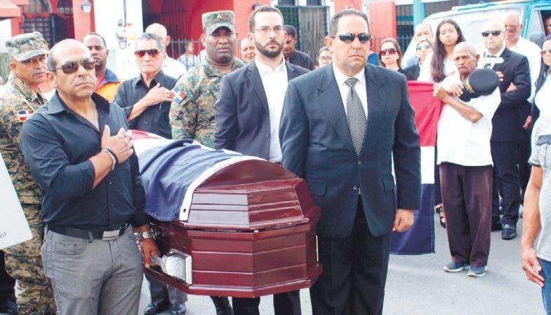 Sepultan restos de exmilitar Randolfo Núñez Vargas