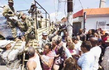Miles personas piden en EU ayuda urgente para Puerto Rico