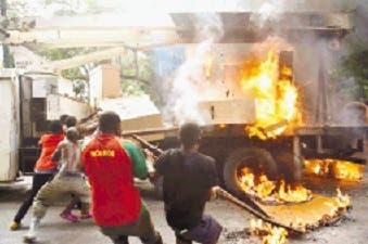 Oposición de Haití protesta contra removilización del ejército