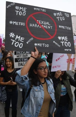 """#MeToo"" protest march"