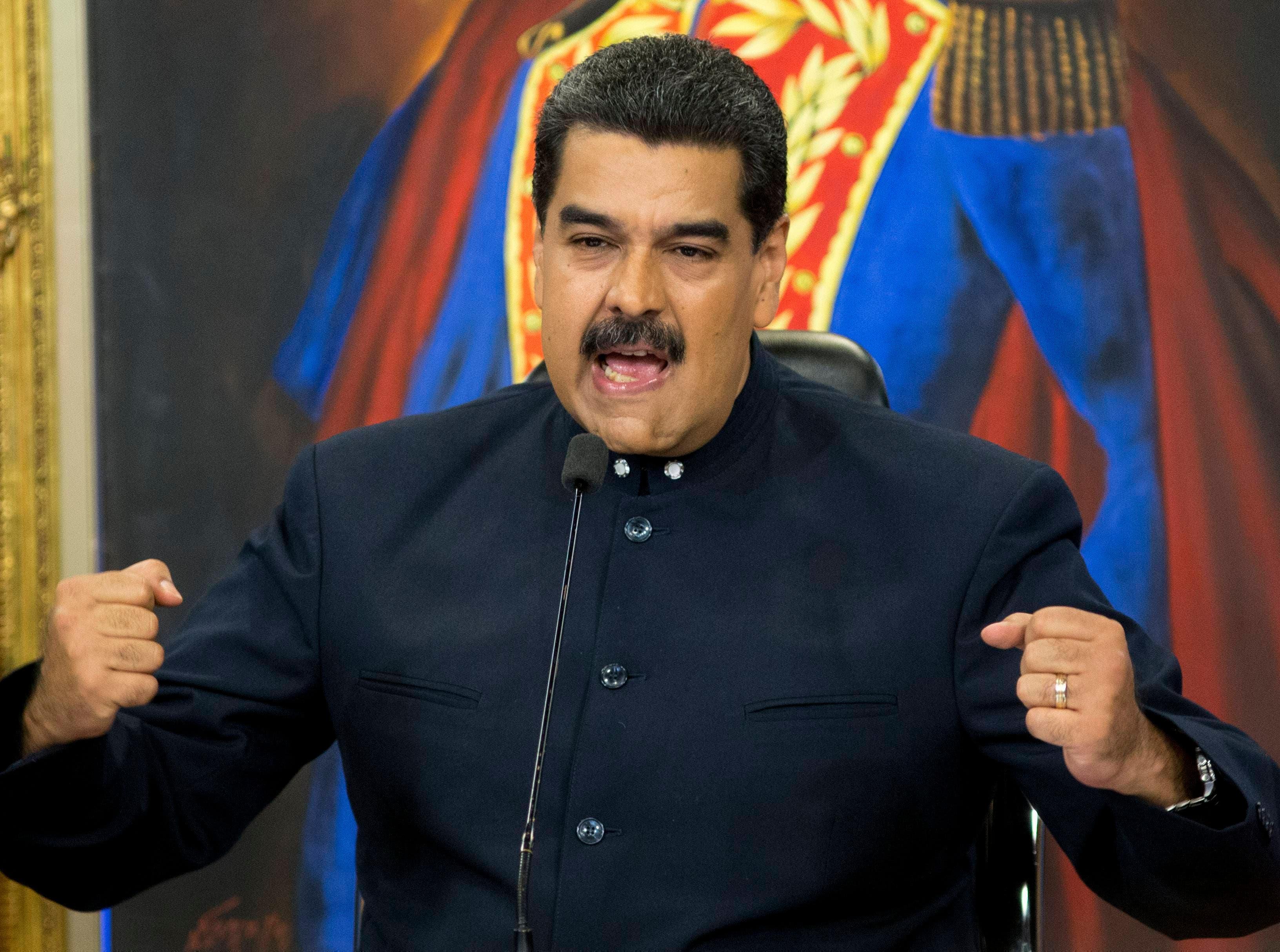 Maduro imparte orden ante respaldo vicepresidente EEUU a oposición venezolana