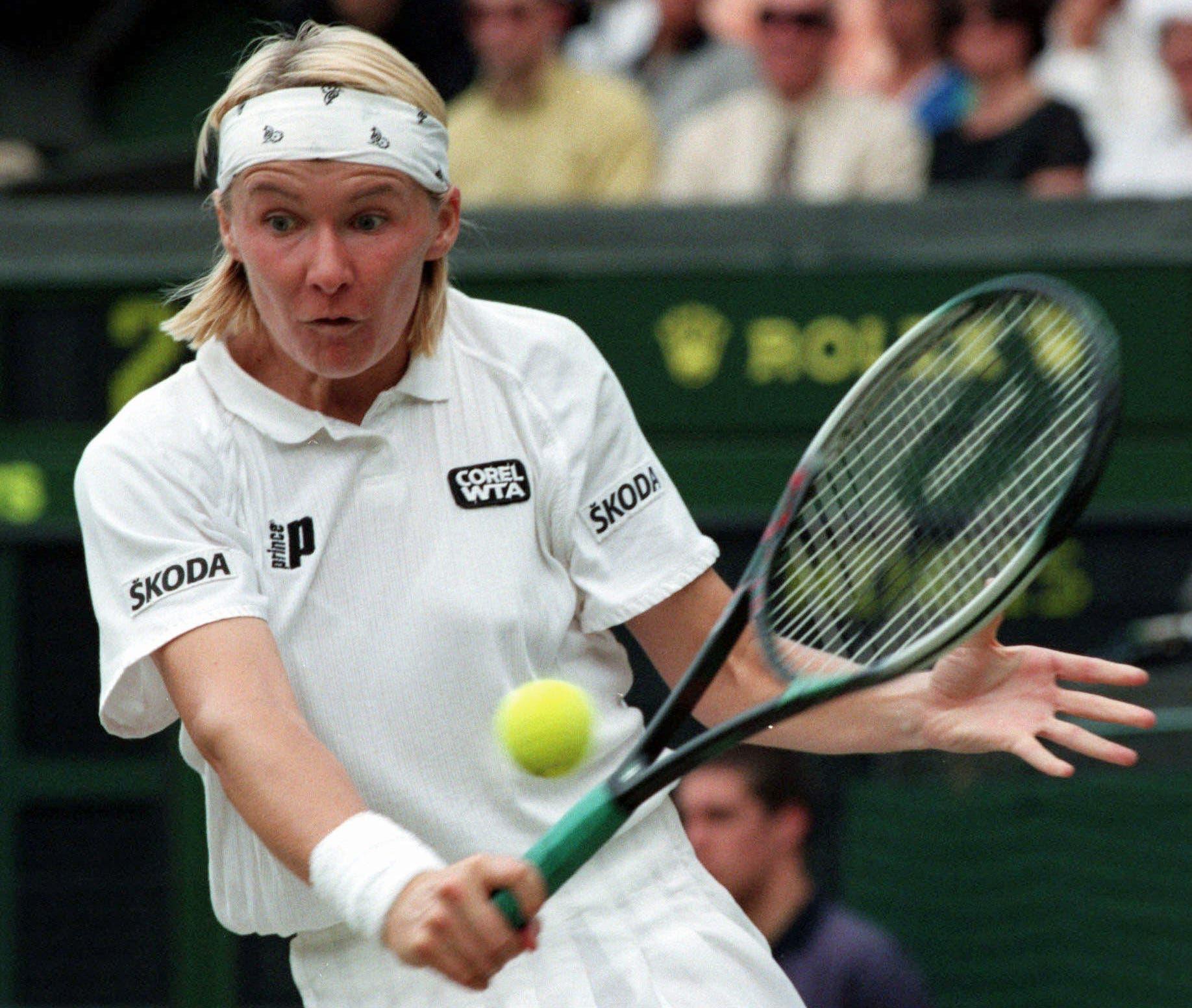 Fallece Jana Novotna, una de las mejores tenistas de todos los tiempos