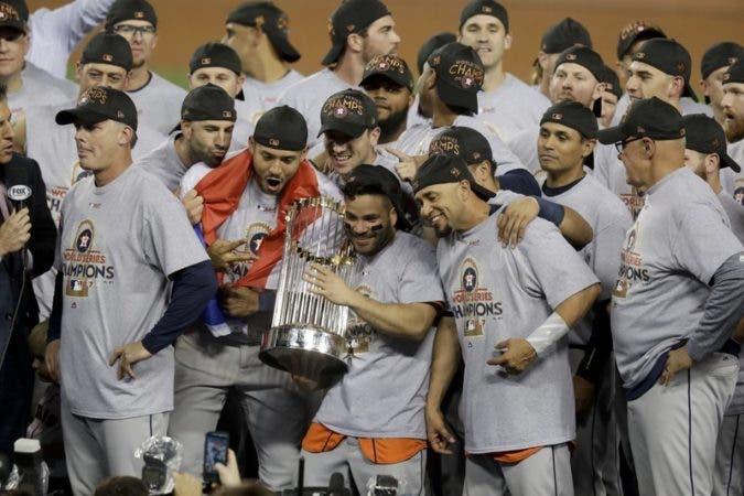 Astros reciben histórico bono por ganar Serie Mundial