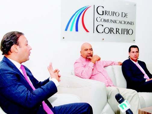 Abel Martínez, Fernando Ramírez y Félix Michel Rodríguez