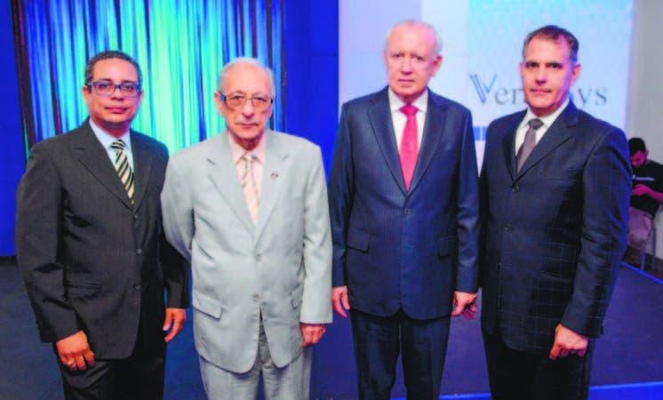 Andrés Ledesma, Rafael (Papi) Luciano, Rafael Alburquerque y Luis Ramón Ramia