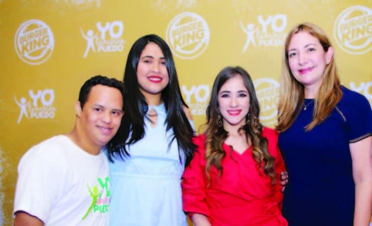 Anthony Hidalgo, Alexandra Bodden, María Esperanza Haché e Isabel Turull