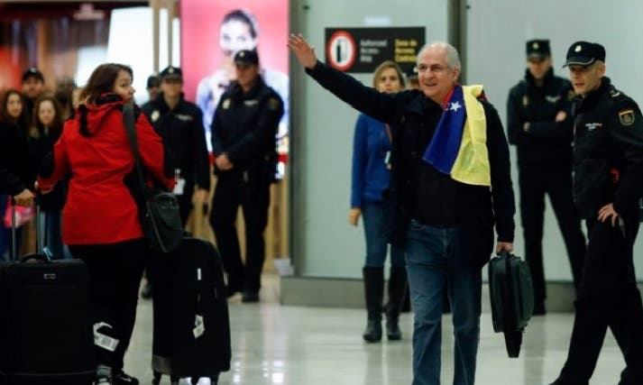 Venezuela camina a un diálogo político en RD marcado por la fuga de Ledezma