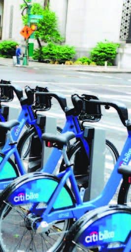 Bicicleta  entre principales medios  de transporte