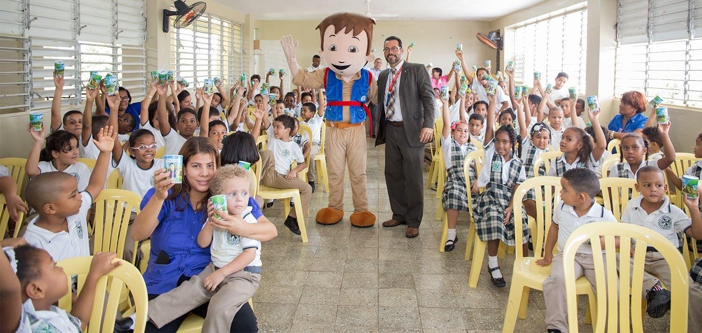 Asociación Cibao sensibiliza a más de 7,200 niños con charlas sobre ahorro