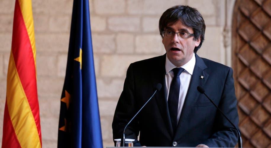 Presidente catalán destituido, Carles Puigdemont/AP