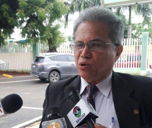Waldo Ariel Suero, presidente del Colegio Médico Dominicano. Fuente externa.