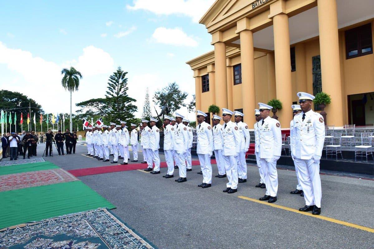 Fotos: Presidente Medina encabeza acto de graduación de 30 cadetes del Ejército