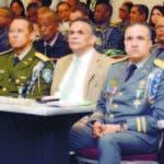 Director PN Ney Aldrin Bautista junto al ministro MAP, Ramón