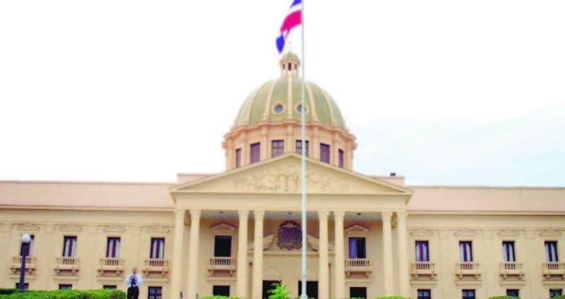 El Palacio Nacional, sede del Gobierno