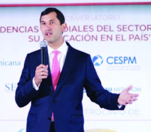 El presidente de la ADIE, Roberto Herrera.