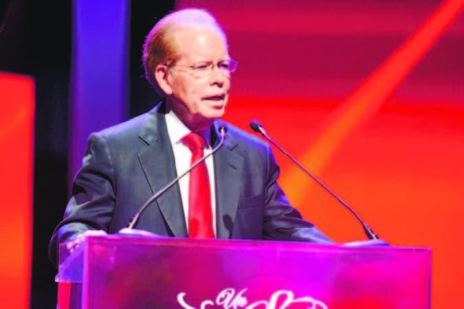 El presidente del Grupo Corripio, José Luis Corripio Estrada, agradeció el apoyo recibido.