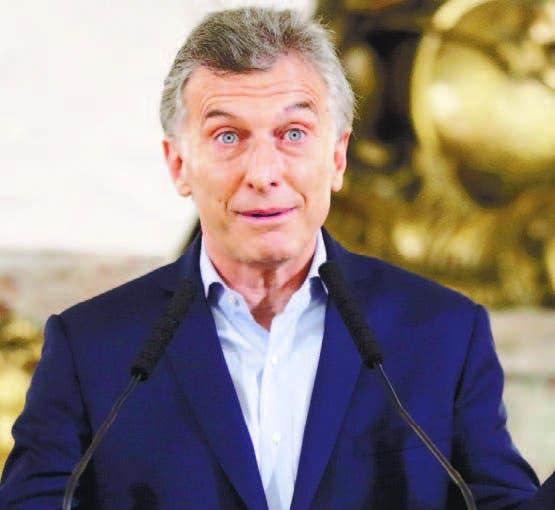 El presidente promercado, Mauricio Macri.