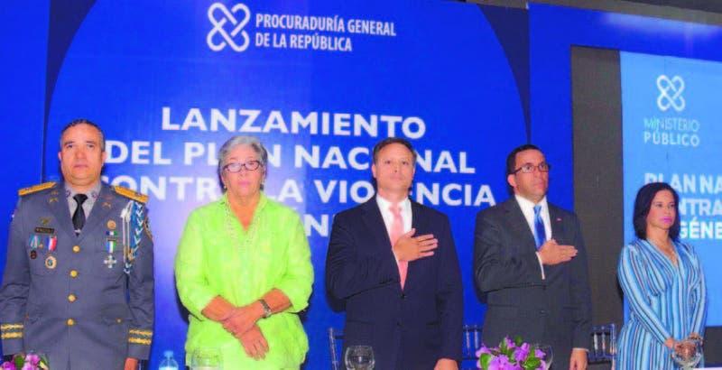 El procurador general junto a los titulares de las principales instituciones que intervendrán en el mismo