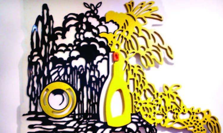 En estos trabajos Amaya introduce elementos novedosos