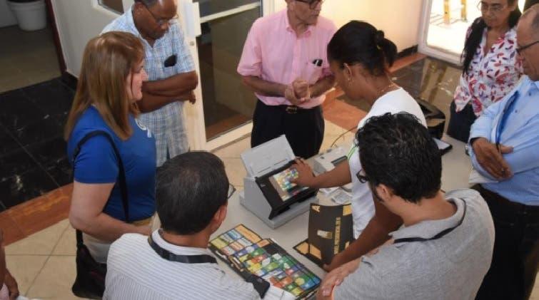 Previo a las elecciones la JCE ofreció detalles sobre las pruebas realizadas a los equipos/Foto: Fuente externa.