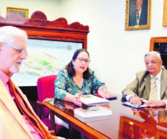 José del Castillo Pichardo, Natalia González y Miguel Ortega Peguero.