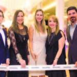 Juan Carlos Pais, Eunice Arroyo, Marina Luck, Marcelle Rexach y Manuel Bergés