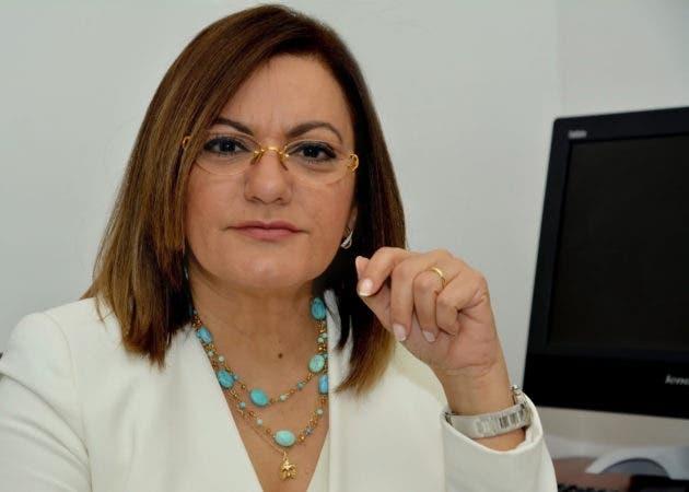 La Viceministra María de los Ángeles Peña
