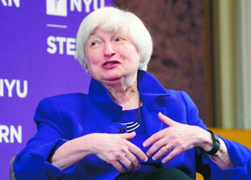 La presidenta de la Reserva Federal de Estados Unidos, Janet Yellen.