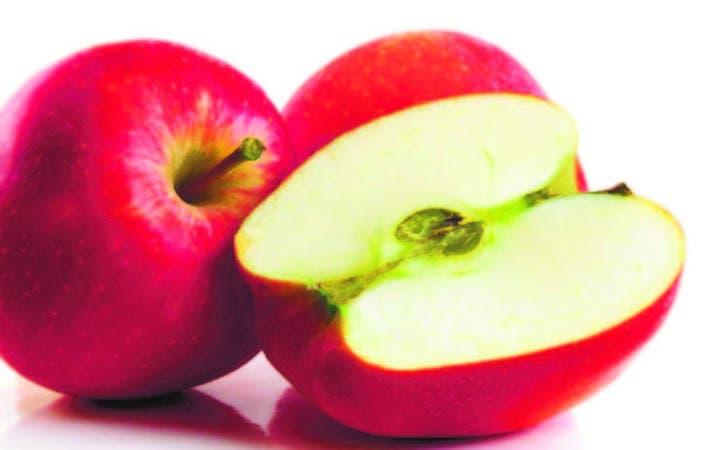Las manzanas transgénicas, al partirse, tardarán mucho más tiempo en ponerse oscuras