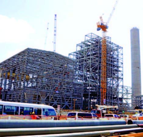 Las plantas de carbón Punta Catalina se construyen en Baní.