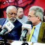 Los doctores Wilson Roa y Waldo Ariel Suero