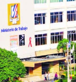 Ministerio de Trabajo.