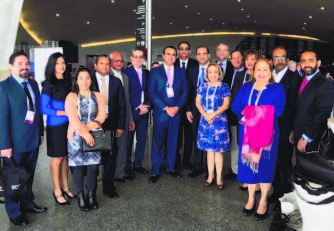 Participantes en la XXI Conferencia Latinoamericana de Zonas Francas