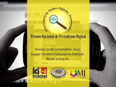 Premio Nacional de Periodismo Digital
