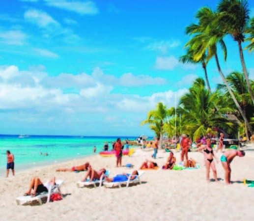 RD es líder en la llegada de turistas en el Caribe.