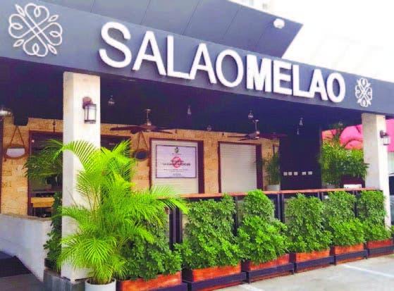 Restaurant Salao Melao, ubicado en el Ensanche Naco.