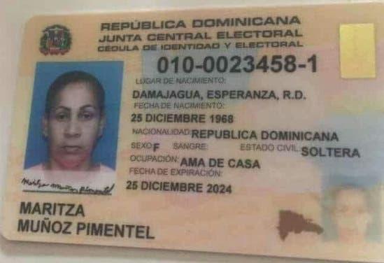 Muñoz Pimentel presenta herida de arma blanca en el cuello posterior con desprendimiento y otra en la espalda que se la ocasionó su hijo.