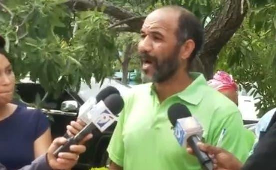 Manuel Robles, vocero de Marcha Verde.