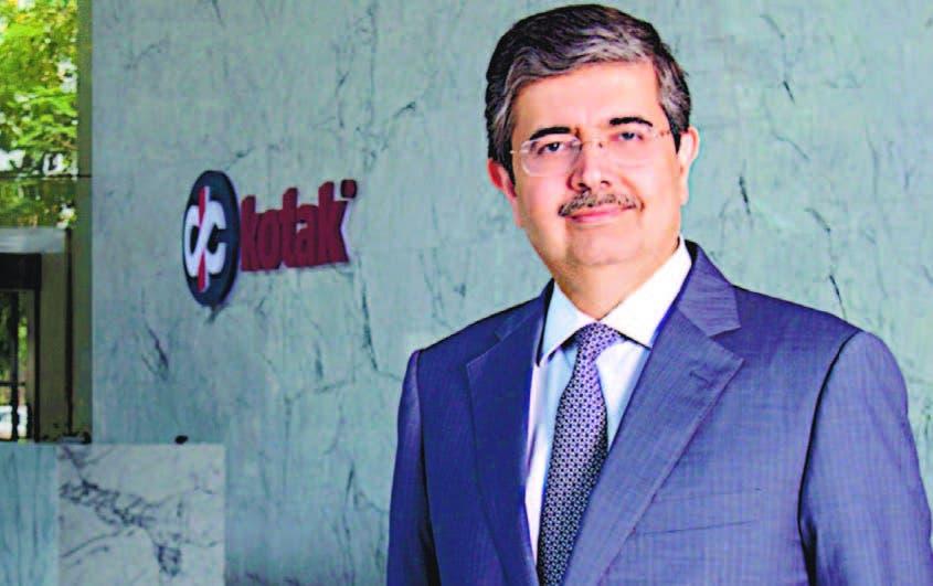 Uday Kotak, cuya fortuna de US$10.200 millones lo convierte en la séptima persona más rica de India.