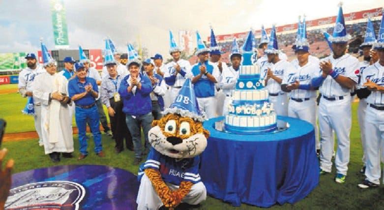 Tigres del Licey celebran sus 110 años, aunque no en su mejor momento