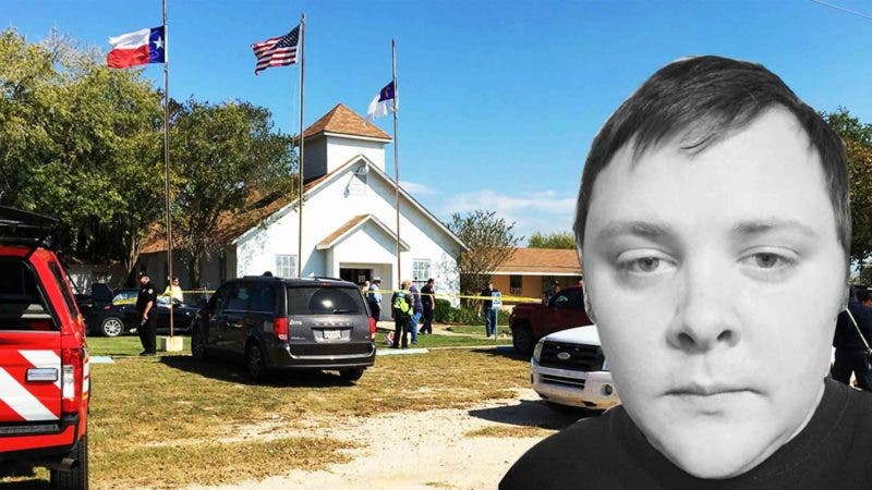 Devin Patrick Kelley es el hombre a quien las autoridades atribuyen el tiroteo que dejó más de 27 muertos en una iglesia bautista de Texas. Fuente externa.